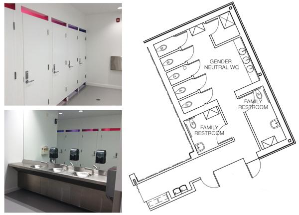 Gender Neutral Toilets Plan.Inclusive Restroom Design Library Design Library Journal