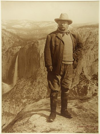 man in front of Grand Canyon