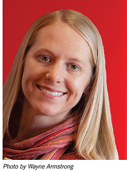 Library Journal March 15, 2011: Erin Meyer, Mover & Shaker