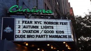 FearNYC Day One: Some Classics, a Key, an Atrocity, a Warning