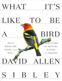 What It's Like To Be a Bird: From Flying to Nesting, Eating to Singing—What Birds Are Doing, and Why