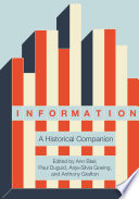 Information: A Historical Companion