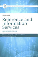Reference and Information Services: An Introduction