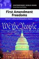 First Amendment Freedoms: A Reference Handbook