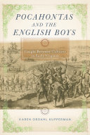 Pocahontas and the English Boys: Caught Between Cultures in Early Virginia