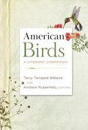 American Birds: A Literary Companion