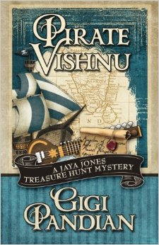 Pirate Vishnu: A Jaya Jones Treasure Hunt Mystery
