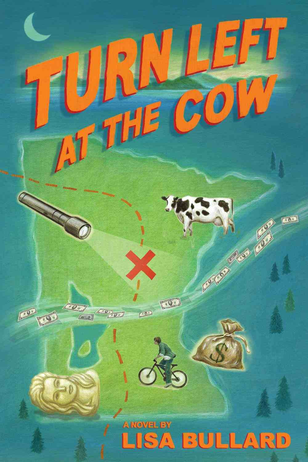 Turn Left at the Cow