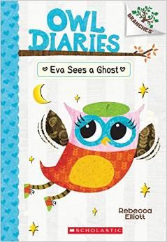 Owl Diaries: Eva Sees a Ghost