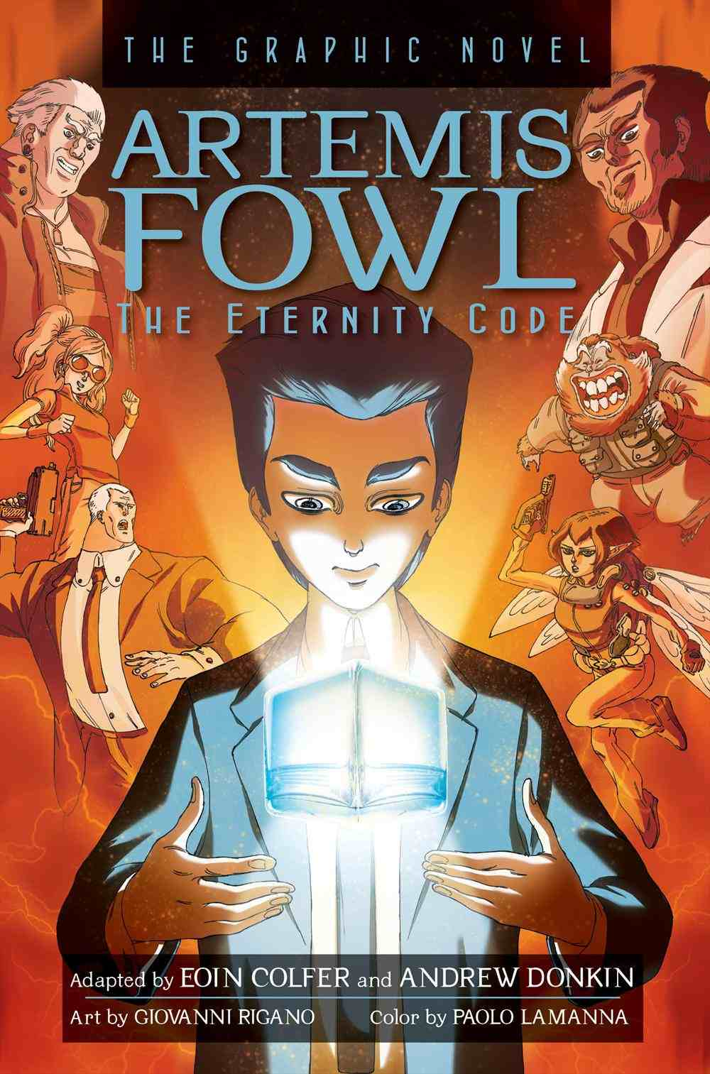 The Eternity Code The Graphic Novel School Library Journal