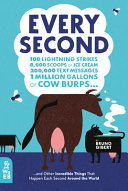 Every Second: 100 Lightning Strikes, 8,000 Scoops of Ice Cream, 200,000 Text Messages, 1 Million Gallons of Cow Burps...and Other Incredible Things That Happen Each Second Around the World