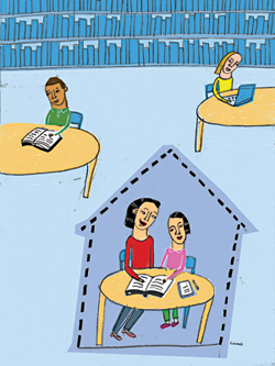 A Home Away from Home: Libraries & Homeschoolers