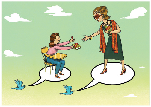 Pleased to Tweet You: Making a case for Twitter in the classroom