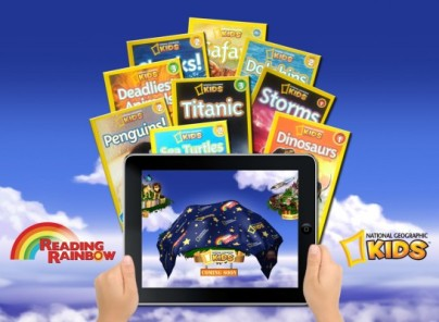 Reading Rainbow Partners With National Geographic Kids, Expands App