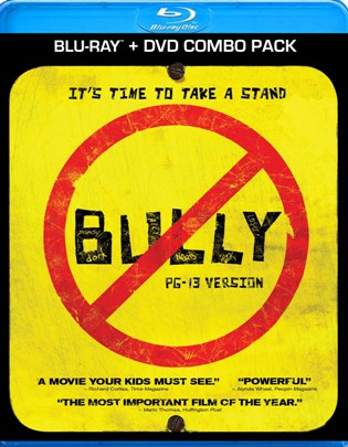 Giveaway: Blu-ray and DVD Combo Pack of BULLY