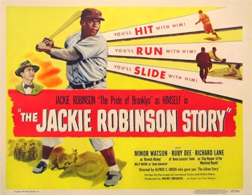 With '42' in Theaters, Here's a Free Movie Starring Jackie Robinson