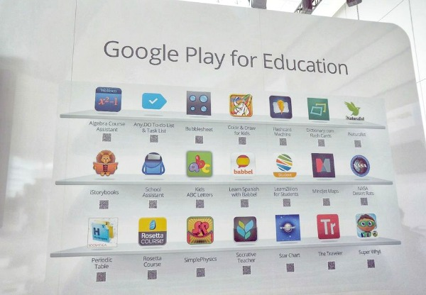 With Google Play for Education, Google Promises a Hassle-Free Tablet for K-12, challenging the iPad