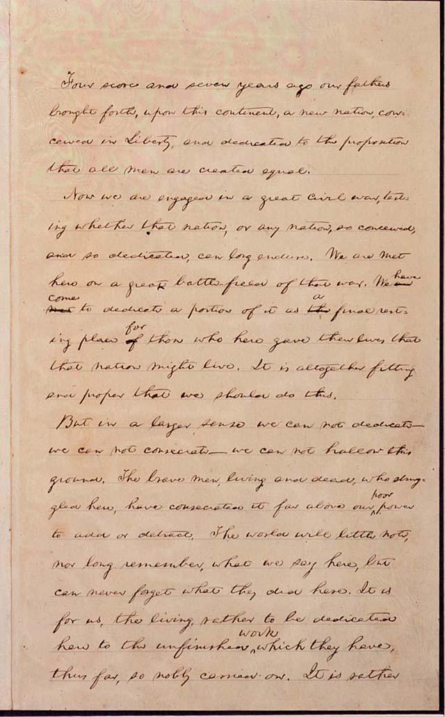 Schools Plan Group Readings of Gettysburg Address on Skype and Google