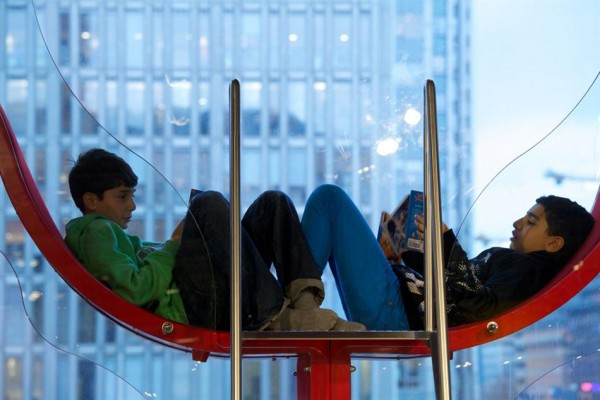 Stockholm's Tio Tretton Library Gives Tweens a Space of Their Own