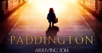 Teaser movie poster for film adaptation of Michael Bond's Paddington books, out December 2014.