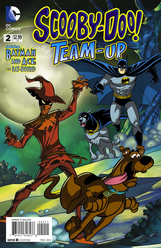 ScoobyDoo 2 TeamUp PrintCoverds Exclusive Preview: Scooby Doo Team Up #2