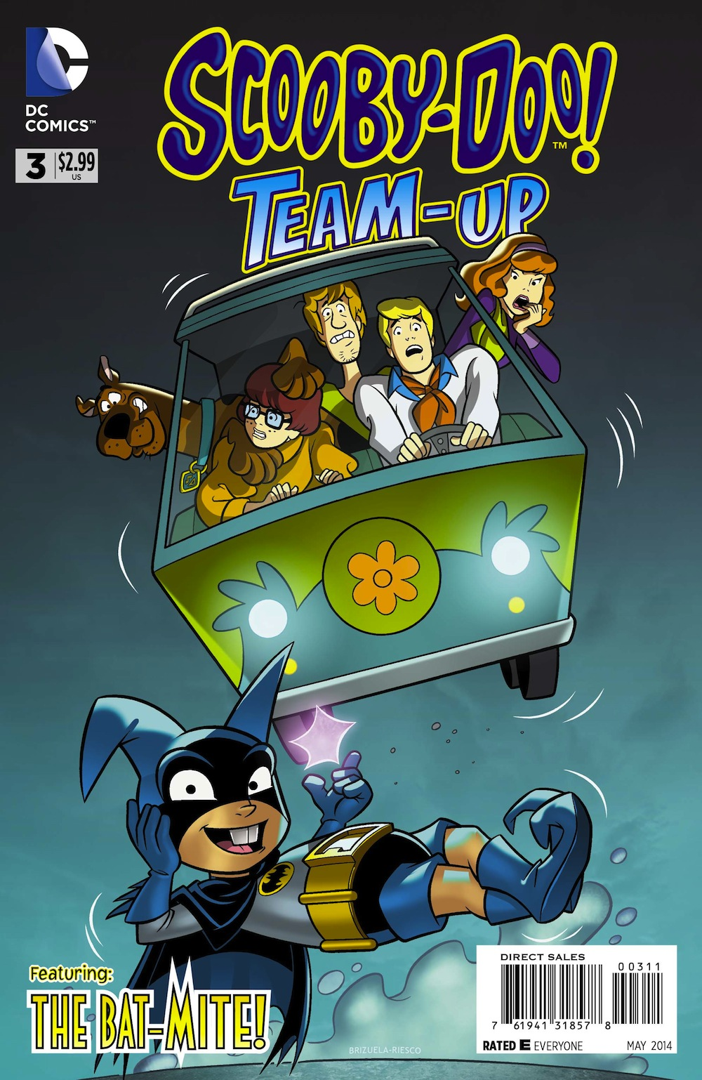 ScoobyDoo 3 TeamUp PrintCoverds Exclusive Preview: Scooby Doo Team Up #3