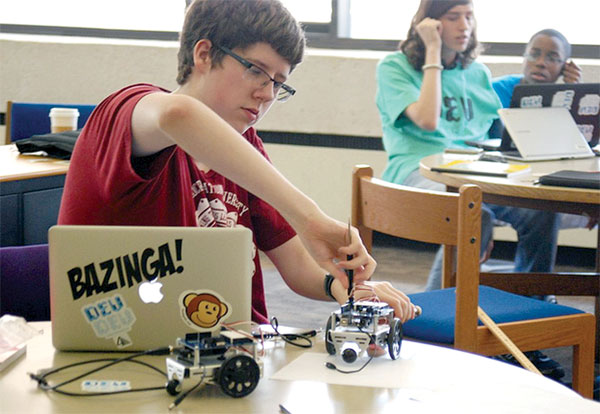 Not Your Mama's Library Program: Lanyards give way to coding and power tools in summer tech camps nationwide