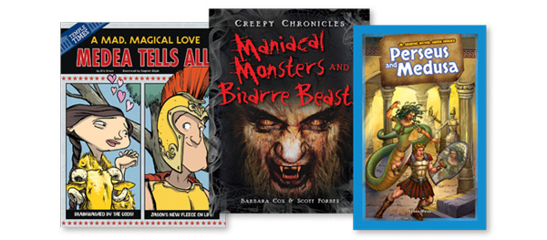 Greeks, Ghosts, Gremlins Explored in New Nonfic Titles