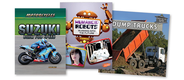 Robots, Rockets, Cool Cars: New High-Interest STEM Books | Series Made Simple