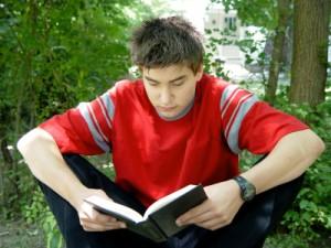 teen reading