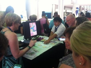 Getting Hands on at ISTE's Digital Age Library Playground | ISTE 2014