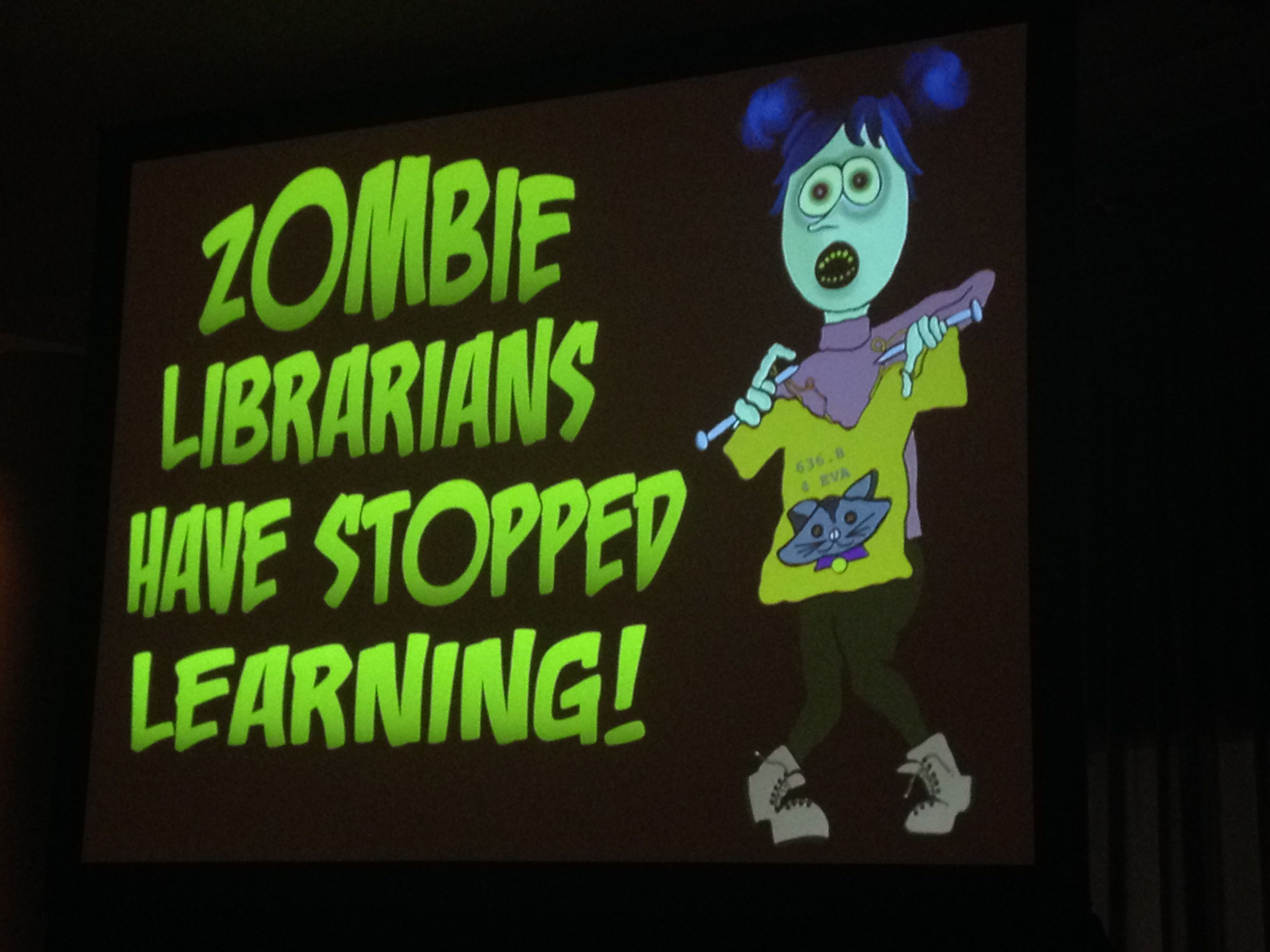 Fight the 'Zombie Librarians' | ISTE 2014