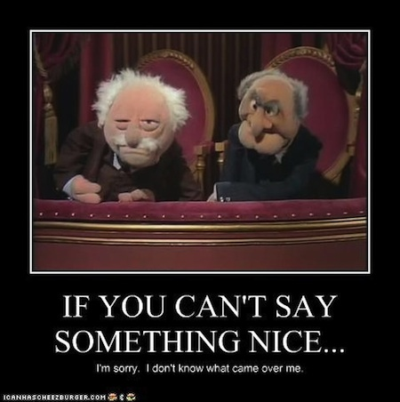 statlerwaldorf Do you read your reviews?