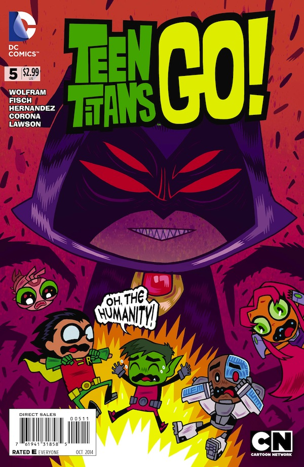 Preview: Teen Titans Go! #5