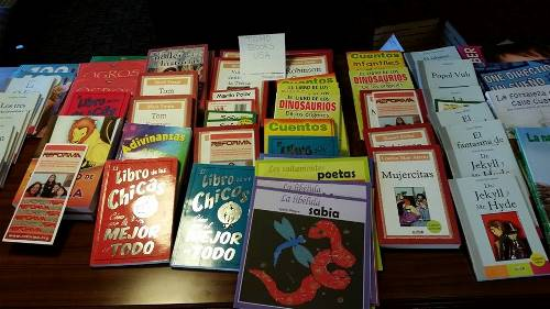 donated books reforma REFORMA Brings Books, Backpacks, and Support to Unaccompanied Minors