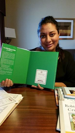 silvia reforma REFORMA Brings Books, Backpacks, and Support to Unaccompanied Minors