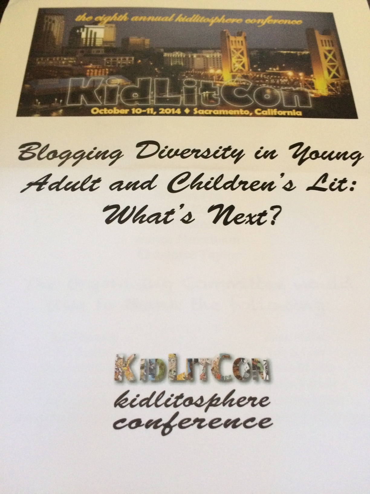 A Focus on Diversity and Savvy Blogging Drive KidLitCon 2014