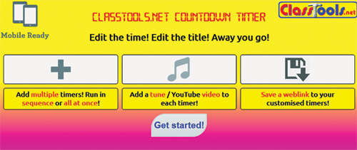 Classroom Management Tricks: Timers and a tool to control noise   Cool Tools
