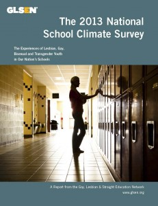 GLSEN4 231x300 National School Climate Survey results about LGBT students' experiences in school