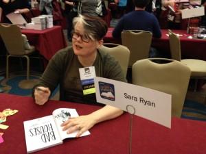 YA lit symposium Sara Ryan