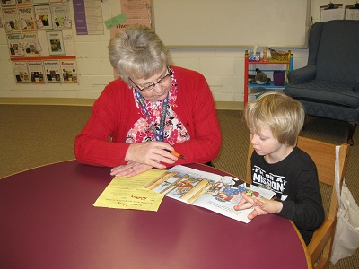 "Program Spotlight: ""Reading Friends"" Initiative Pairs Retirees with Young Students"