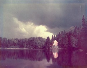 The actual lake and cabin in Forestport, NY that served as the setting of Tuck Everlasting