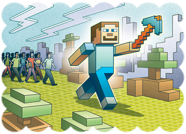 MinecraftEdu Takes Hold in Schools | School Library Journal