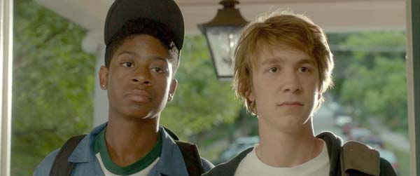 RJ Cyler as Earl, left, and Thomas Mann as Greg in Me and Earl and the Dying Girl (Photo: Fox Searchlight Pictures)
