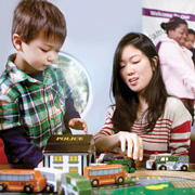 Where Families Play: Dynamic Early Learning Spaces