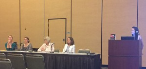 Too Small to Fail's Patti Miller and panel participants from local California libraries and agencies.