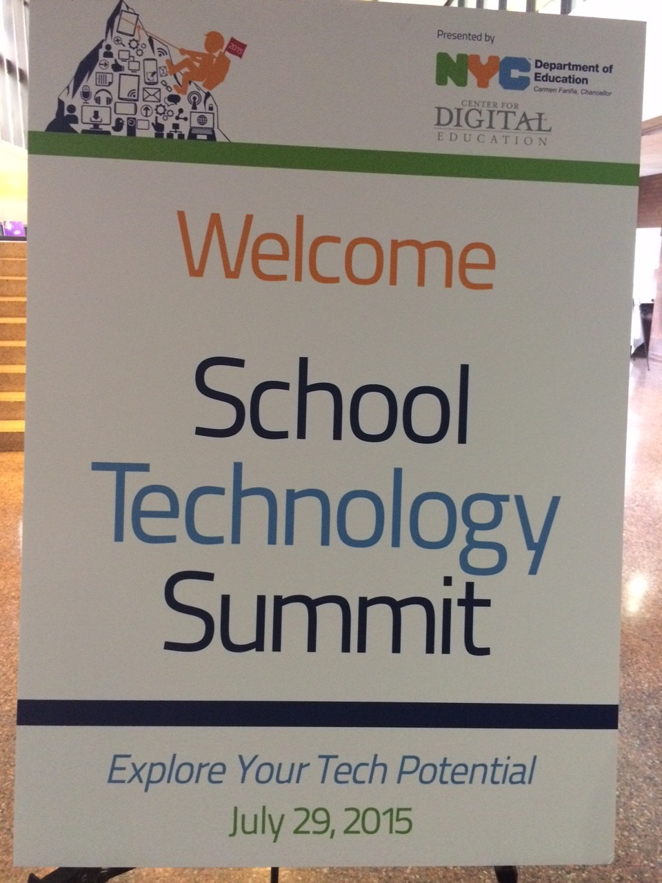 NYC School Tech Summit: Green Screens, Digital Tools, and, Above All, Innovation