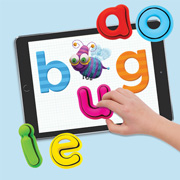 SLJ Reviews Tiggly Words: An early literacy product mashes physical letter toys and tablet apps
