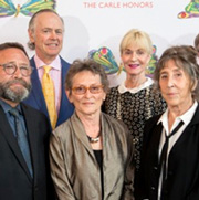 Carle Honors Gala Celebrates Oxenbury, Porter, Bertin, and Cotsen Library