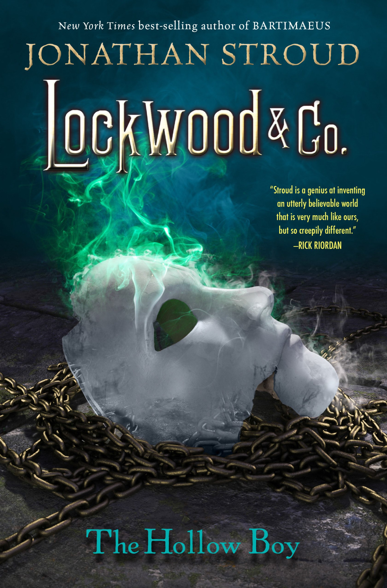 Lockwood & Co.: The Hollow Boy by Jonathan Stroud | SLJ Review